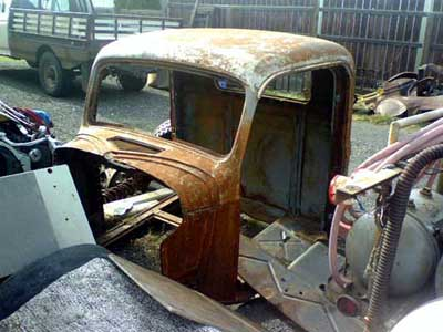 1936 Ford Cab