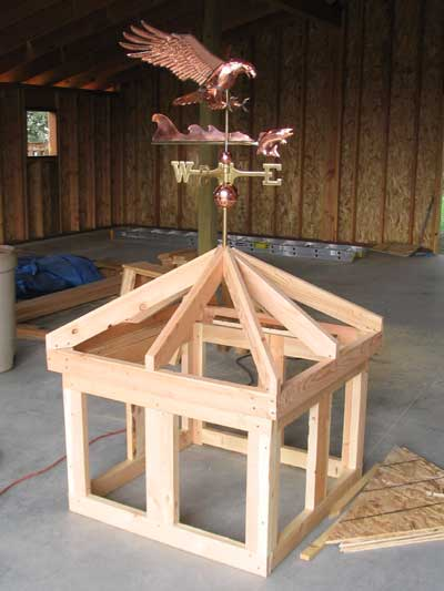 Woodworking how to build a cupola with windows plans pdf for Free cupola blueprints